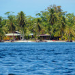 Tropical beach in Bocas del Toro — Stock Photo