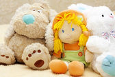 Plush toys — Stock Photo