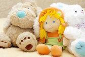 Plush toys — Stock Photo