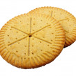 Stock Photo: Shortbread Rounds