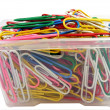 Stock Photo: Paperclips Boxed