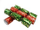 Christmas Crackers — Stock Photo