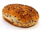 Bread Roll with Seeded Top — Stock Photo