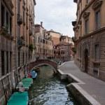 Small bridge over Canal — Stock Photo #4510141