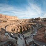 Colosseum panorama — Stock Photo #4510243