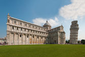 Pisa cathedral and tower — Stock Photo