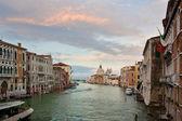 Vistas al gran canal — Foto de Stock