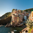 Riomaggiore town — Stock Photo