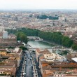 Panoramic view at the Rome — Stock Photo