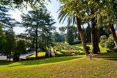 View at the Vatican Gardens — Foto Stock