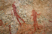 Bushmen Rock Paintings — Stock Photo