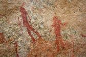 Bushmen Rock Paintings — Stock Photo
