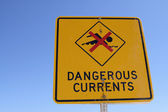 Dangerous Currents — Stock Photo