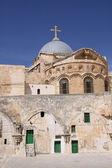 Kostel svatého hrobu. jeruzalém — Stock fotografie