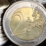Two Euro Coin — Stock Photo #4443392