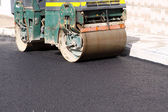 Asphalt Worker — Stock Photo