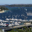 Yacht Harbor. Sydney — Stock Photo