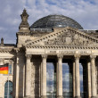 The Reichstag. Berlin - Stock Photo