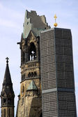 Kaiser Wilhelm Memorial Church — Stock Photo
