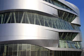 Modern Architecture - Mercedes-Benz Museum — Stock Photo