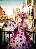 Masquerade in Venice — Stock Photo