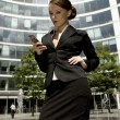Young businesswoman - Stockfoto