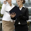 Two businesswomen - Stock Photo
