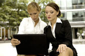 Two businesswomen — Stock Photo