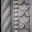 Repeating building stonework background - Foto Stock