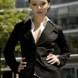 Young businesswoman — Stock Photo #4809053