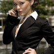 Stock Photo: Young businesswoman