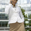Blonde businesswoman — Stock Photo #4809211