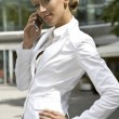 Blonde businesswoman — Stock Photo #4809261