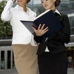 Two businesswomen — Stock Photo #4809419