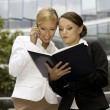 Two businesswomen — Stock Photo #4809459