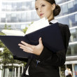 Young businesswoman — Stock Photo #4809470