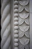 Repeating building stonework background — Stock Photo