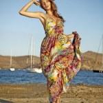 Goddess of the wind — Stock Photo #4832235
