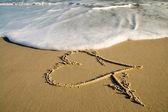 Symbol of love. — Stock Photo