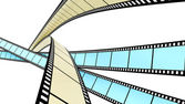 Barevné filmy — Stock fotografie