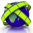 World Of Video — Stock Photo