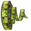 3d film Segment rolled forward — Stock Photo #4687838