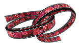 Two 3d filled films ring — Stock Photo
