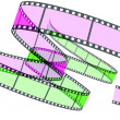 Two 3d film Segment — Stock Photo