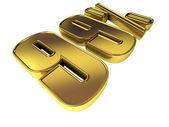 Gold 99 Percent — Stock Photo