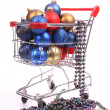 Christmas shopping — Stock Photo