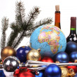 Christmas all over the world — Stock Photo