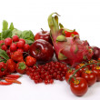 Red fruits and vegetables — Stock Photo #4553770