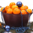 Christmas fruit — Stock Photo