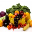 Fruits and vegetables — Stock Photo #4553842